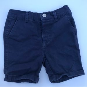 7 For All Mankind Navy Toddler Boy Shorts
